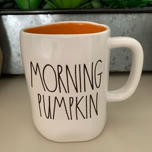 Rae Dunn Morning Pumpkin Mug
